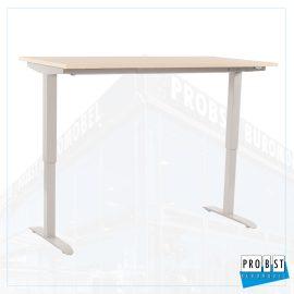 Schreibtisch elektrisch birke