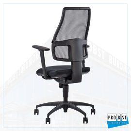 Bürostuhl Netzrücken schwarz