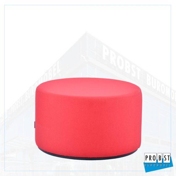 Sitzhocker rot