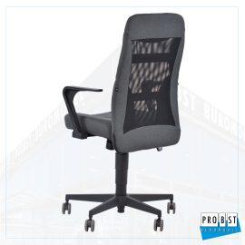 Bürostuhl grau schwarz