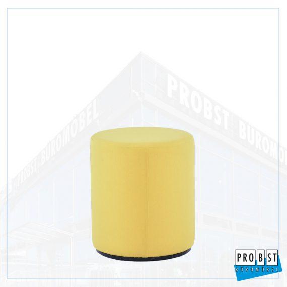 Sitzhocker gelb