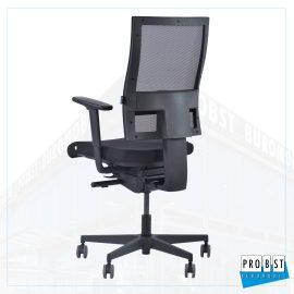 Bürostuhl Netz schwarz