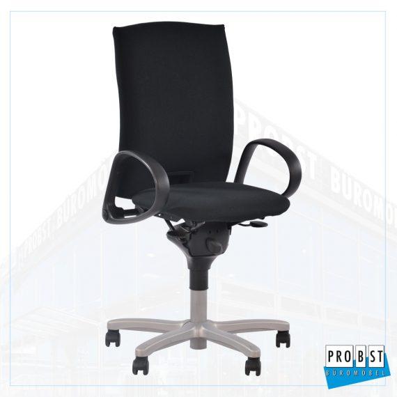 Bürodrehstuhl Comforto schwarz