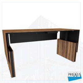 Schreibtisch Walnuss