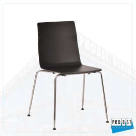 Stapelstuhl schwarz