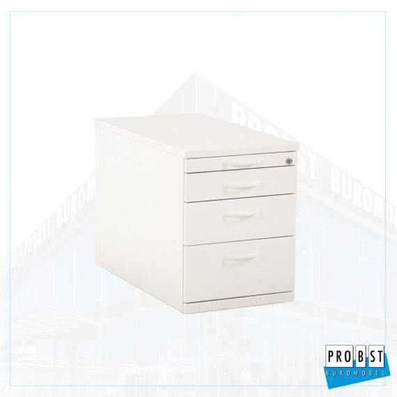 Rollcontainer Lorbeer weiss